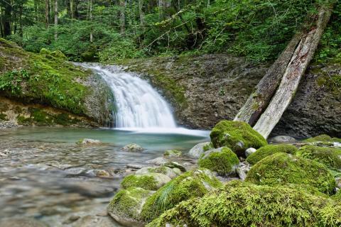 Kleiner Wasserfall in Wattwil