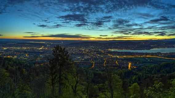 20190425 Zuerich_Uetliberg_Sunrise