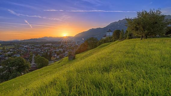 20190625 Sonnenaufgang_Schloss_Werdenberg_3