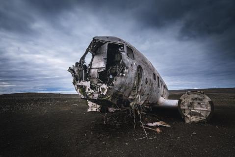 DC-3 Wrack