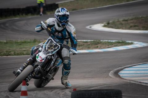 Sizilien Supermoto Rennen Cross