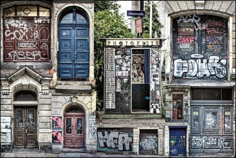 Doors of Dresden Neustadt