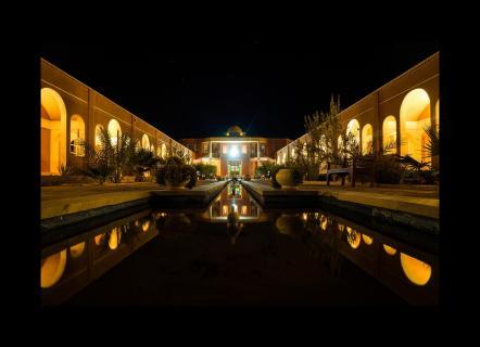 Desert Hotel im Iran