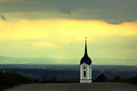 Kirchturm-Perspektive