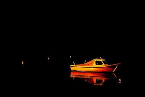 Leuchtboot