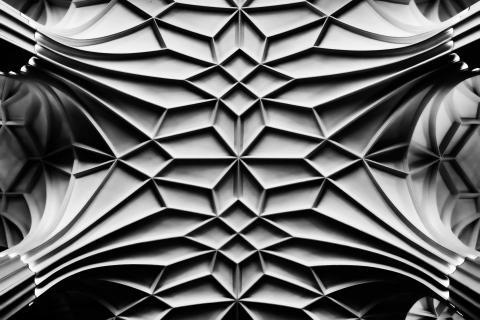 Deckenstruktur