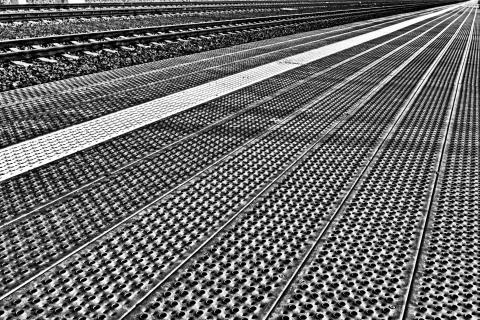 Der Bahnsteig