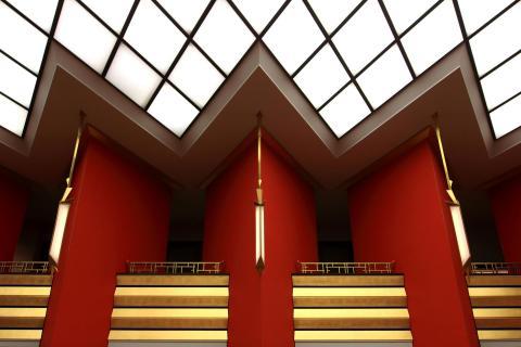 Rhomben-Architektur