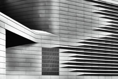 Streifenfassade