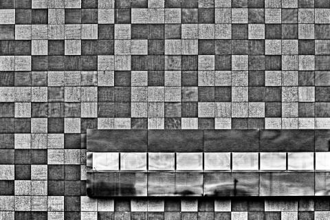 Schachbrettfassade