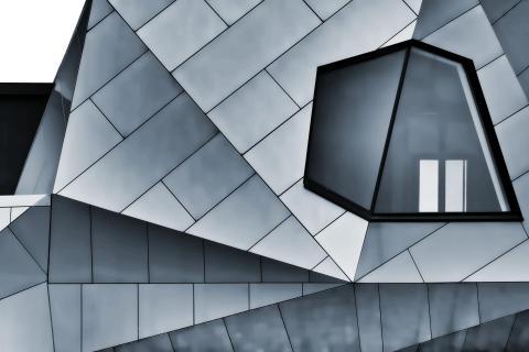 Kantiges Design