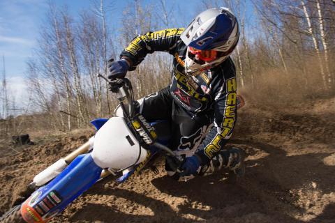 Motocross Kurventraining