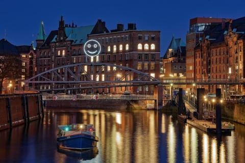 Hamburg lacht