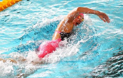 Schwimmen: Luftholen