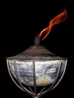 Öllample