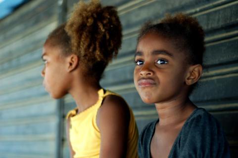Favela Mädchen