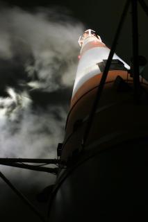 Nebel auf dem Main tower