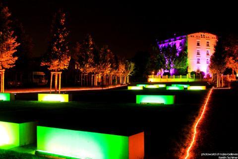 Harburger Nacht der Lichter 20.09.13 - Schlossinsel