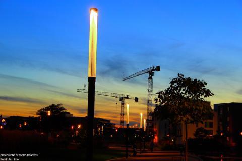 Essen City bei Nacht