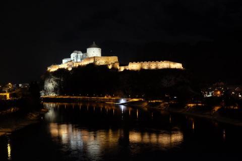 Burg Kufstein bei Nacht