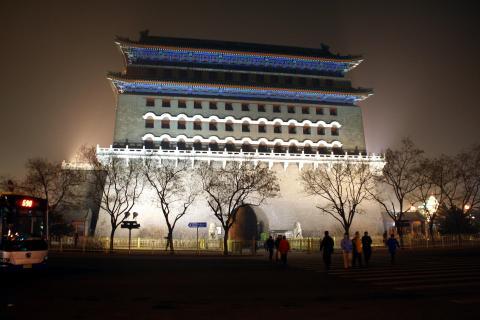 Zhenjanmen Peking - China