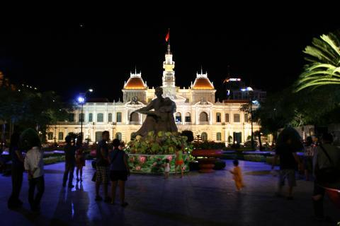 Rathaus in Ho-Chi-Minh-Stadt - Vietnam