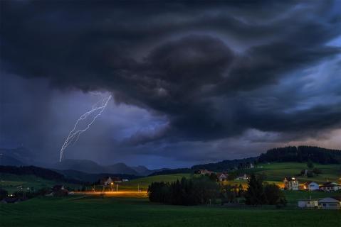 Gewitter in Waldstatt