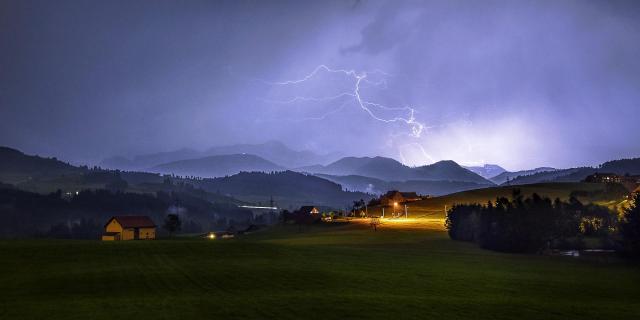 Nachtlicht übern Alpstein