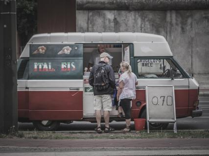Der Eiswagen