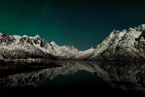 under the artic stars