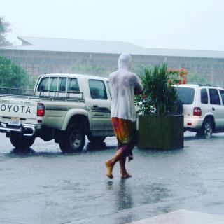 Karibischer Sommerregen