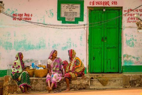 3 frauen im Orissa