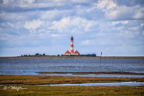 Leuchtturm Westerheversand