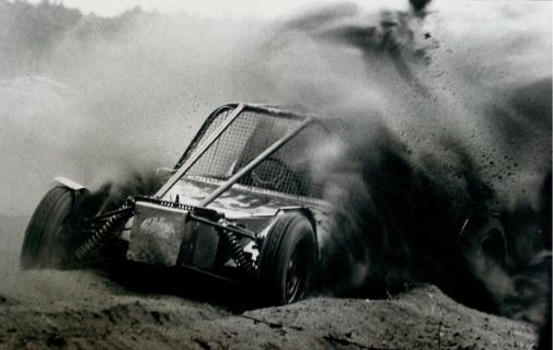 Autocross - Harter Einsatz