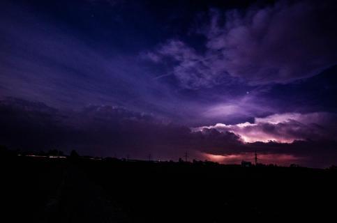 Gewitter Nachts