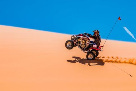Quad in den Coral Pink Sand Dunes