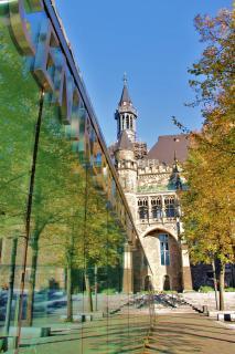 Aachen Rathaus Katschhof
