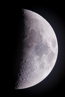 Nahaufnahme des Mondes