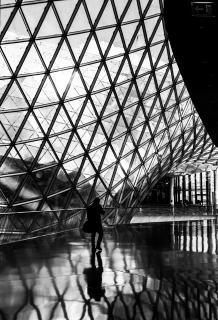 Mensch und moderne Architektur