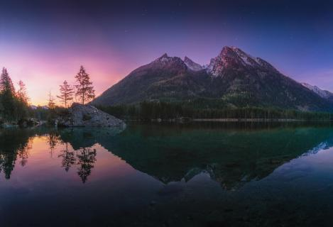 Hintersee twilight