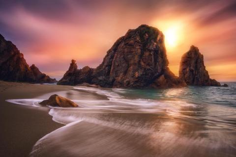 Praia backside
