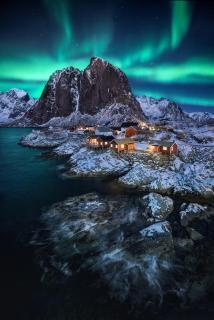 Hamnøy aurora