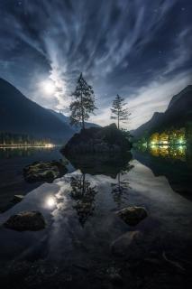 Hintersee Mond