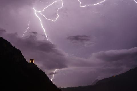 Stürmische Nacht