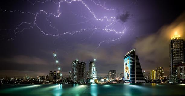 Bangkok in der Nacht