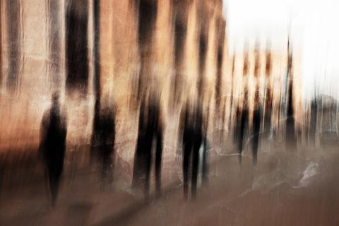 Fussgänger in der-Stadt