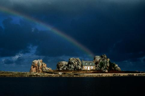 Regenbogen Bretagne