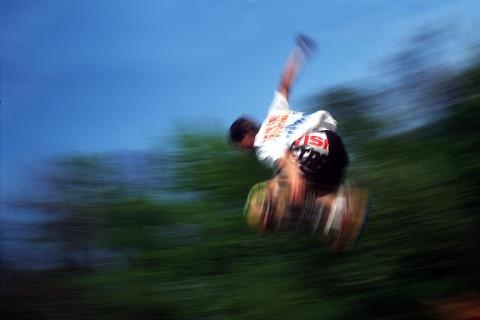 Skateboard-Sprung