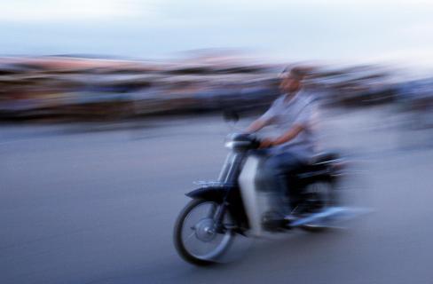 Mopedfahrer