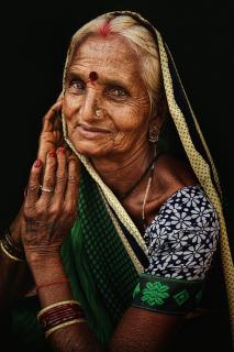 village woman of indian
